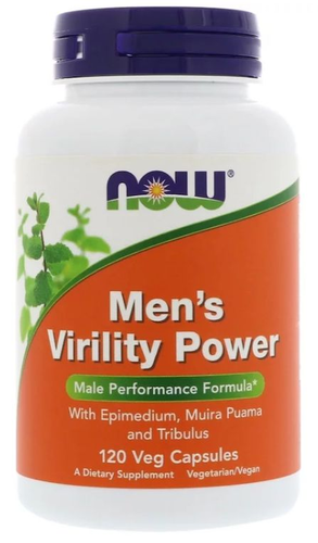 Men´s Virility Power - Now Foods - 120 cápsulas