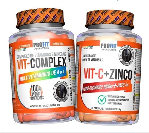 Kit - Multivitamínico A-Z Multi Complex + Vitamina C 1000mg