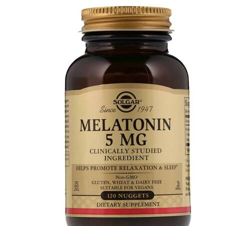 Melatonina 5 mg - Solgar - 120 Tablets