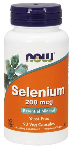 Selênio 200 mcg - Now Foods - 180 Cápsulas