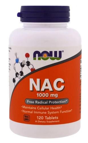 N- Acetil Cisteina (NAC) 1000 mg - Now Foods - 120 capsulas