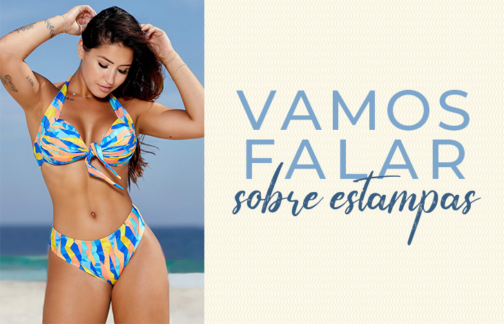 Arrase na praia com todas as estampas!