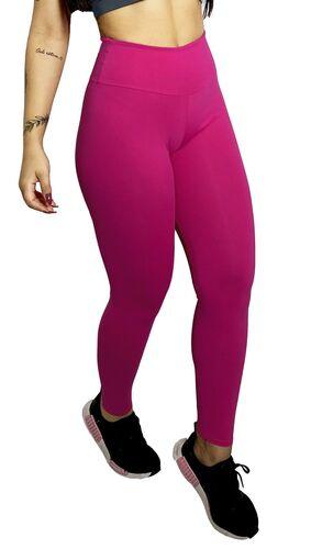 Calça Legging Poliamida Básica Pink