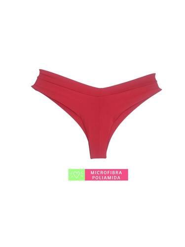 Calcinha Costura Invisível Vermelho Desejo
