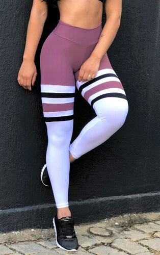 Calça Legging Poliamida Listras Satim
