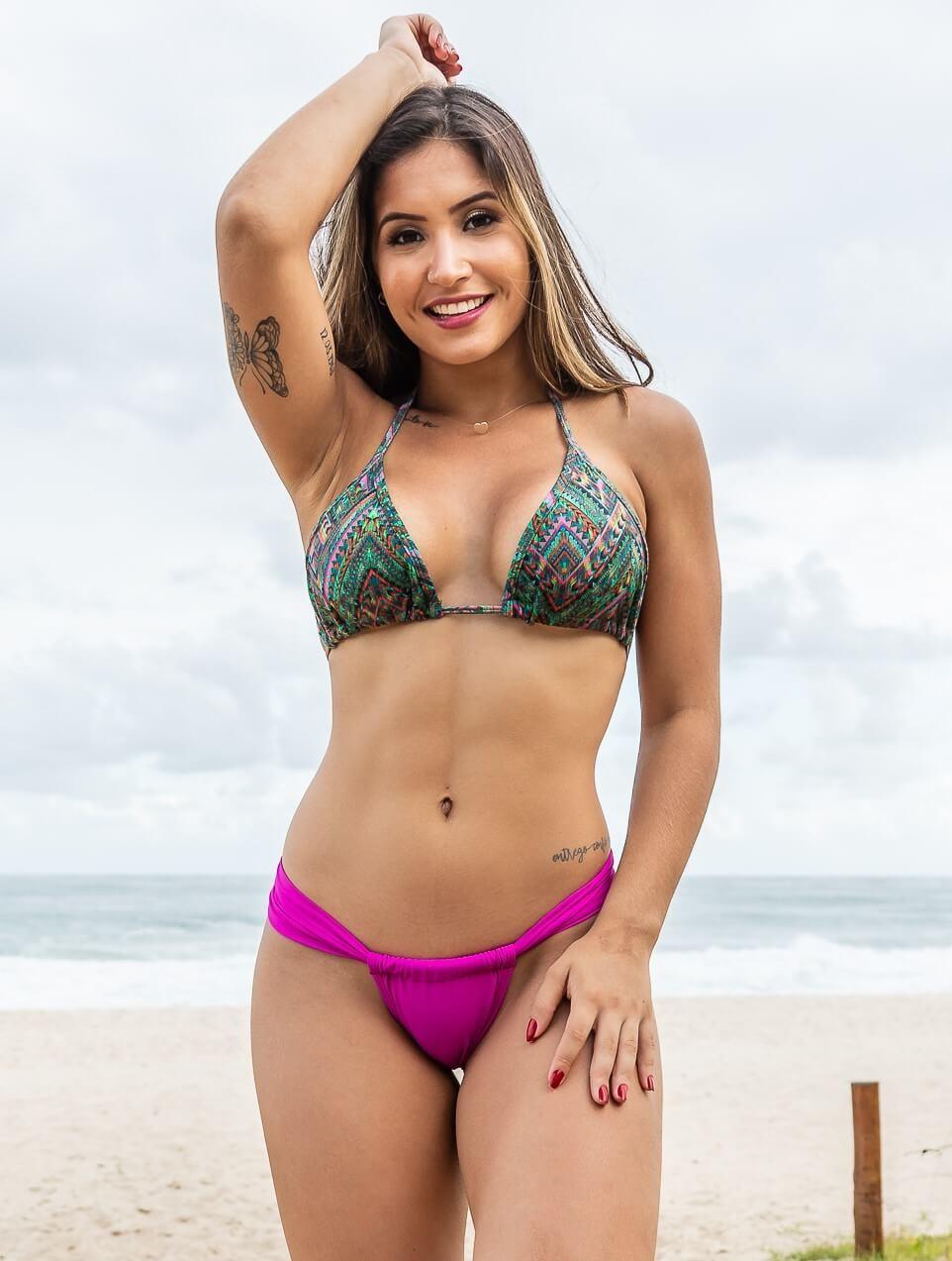 0d60d91255f7 Comprar Biquíni Cortininha com Calcinha Sumô Pink - GRISFIT | Moda ...