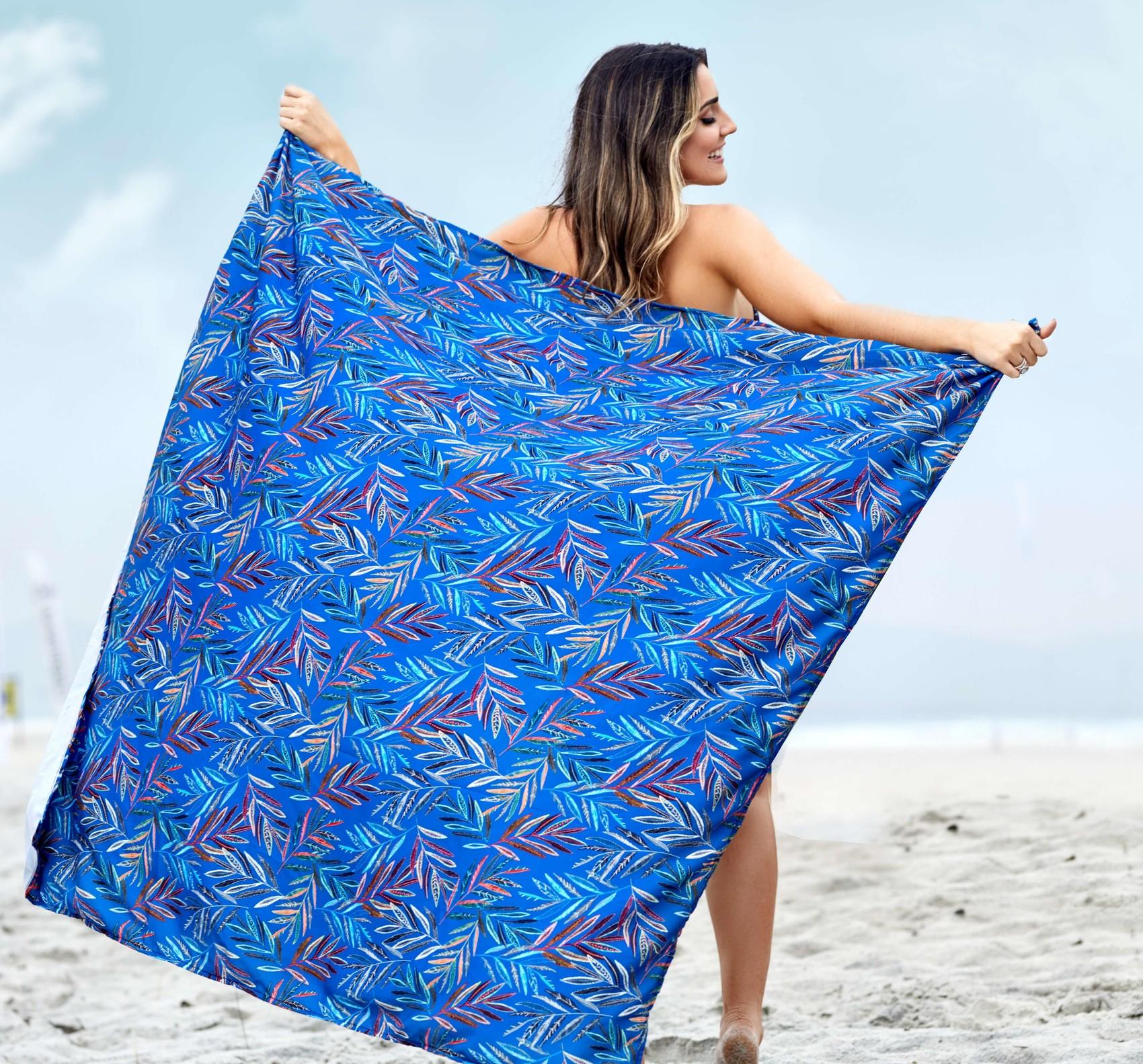 Canga Pareô Azul