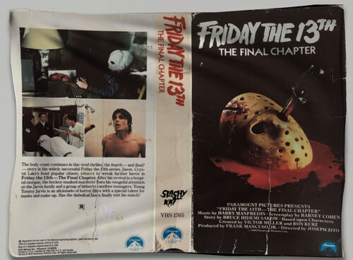 Bandeira Friday the 13th VHS