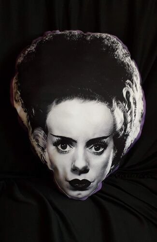 Almofada Bride of Frankenstein