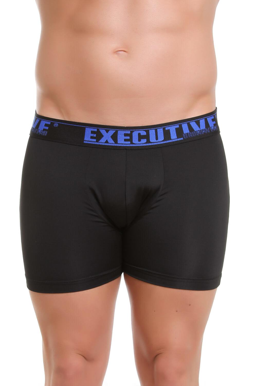Cueca Boxer Executive em Microfibra - Elastico Estampa