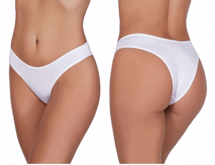 2b302c2e3 Uma ótima dica para sair das tradicionais roupas brancas é apostar em um  look bem colorido e deixar o branco para sua lingerie.