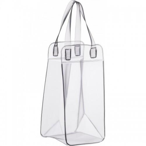 Bolsa para gelo em PVC Transparente