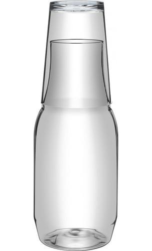 Conjunto Moringa em PET e copo em Poliestireno 960ml
