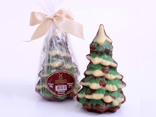 Pinheiro de Natal de Chocolate 100g