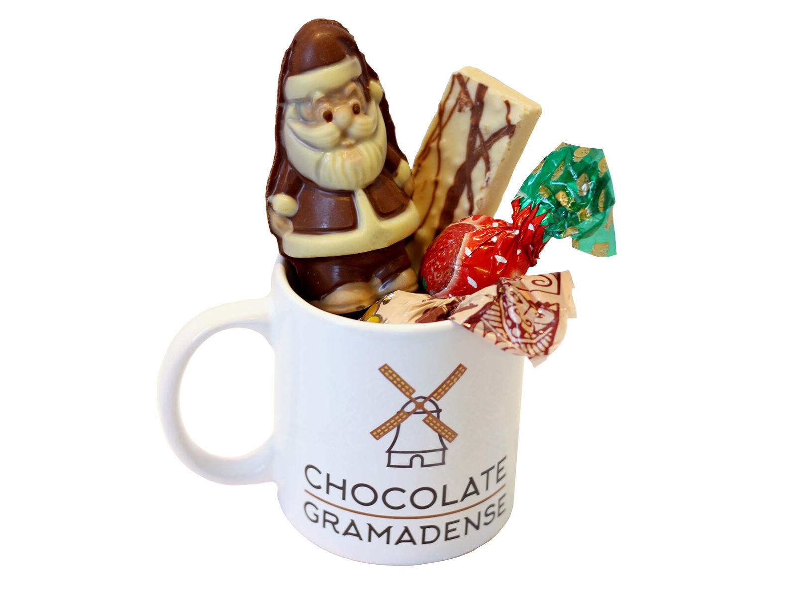 Caneca de Natal com Chocolates 150g