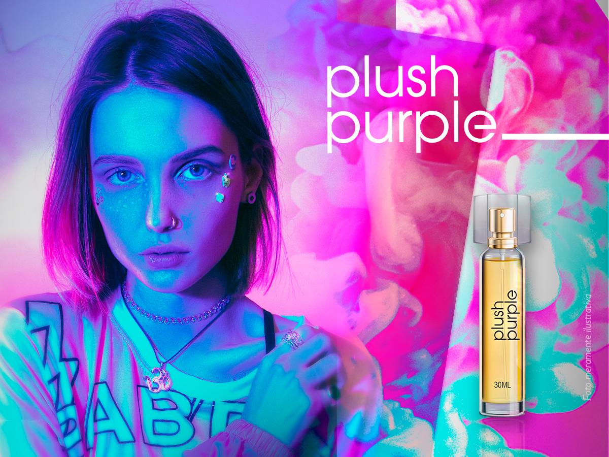 Plush Purple - Deo Colônia