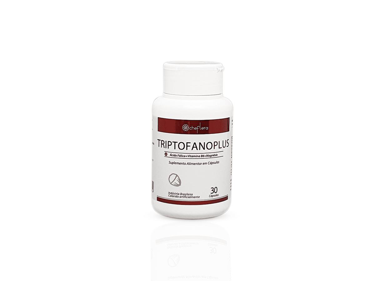 Triptofano Plus Suplemento Alimentar em Cápsulas - Sem Glúten
