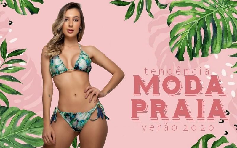 Tendências moda praia verão 2020
