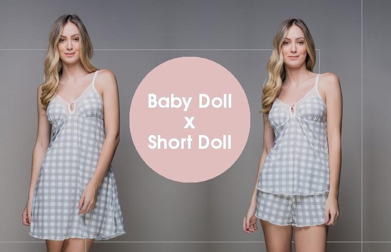 Baby doll e short doll entenda a diferença!