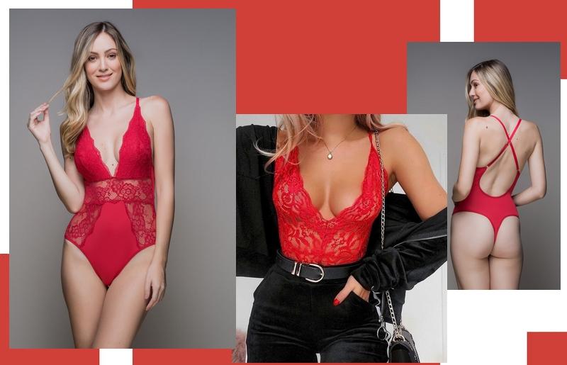 701cb3701 O melhor de reunir a tendência das lingeries á mostra com os tons de  vermelho é que o visual fica sexy e mesmo assim muito sofisticado ao mesmo  tempo.