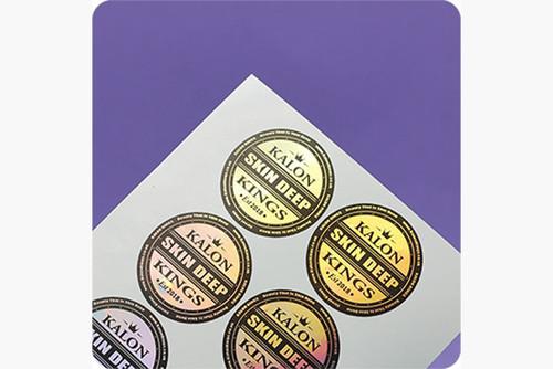 Etiqueta / Rótulo com  Meio-Corte eletrônico Personalizado