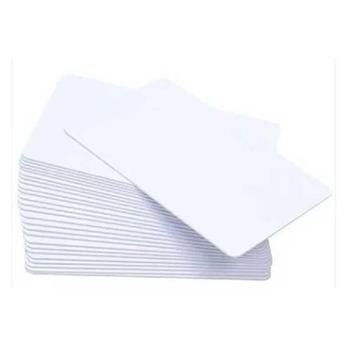 Cartão de PVC Branco Liso Resinado | 76mm L3