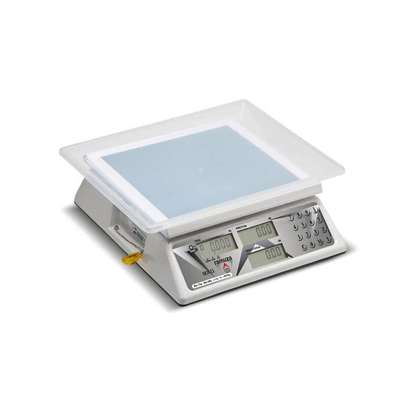 Balança Eletrônica Computadora Ramuza DCR CL Com Bateria
