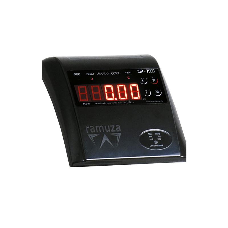 Balança Eletrônica Fitness Ramuza DP 200 INMETRO