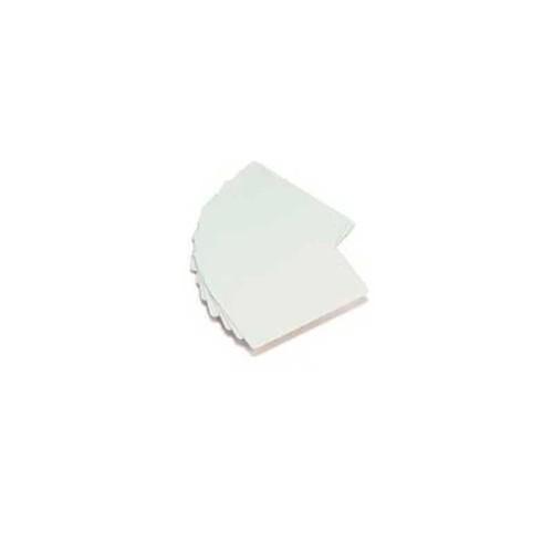 Cartão de PVC Branco Liso | Impressão Jato de Tinta