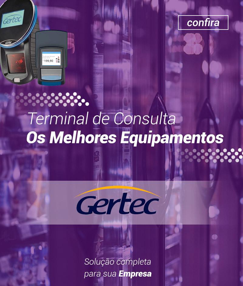 Banner Terminal de Consulta Gertec