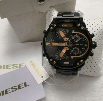 Relógio Diesel 3 BAR - Mr. Daddy 2.0 Preto e Dourado