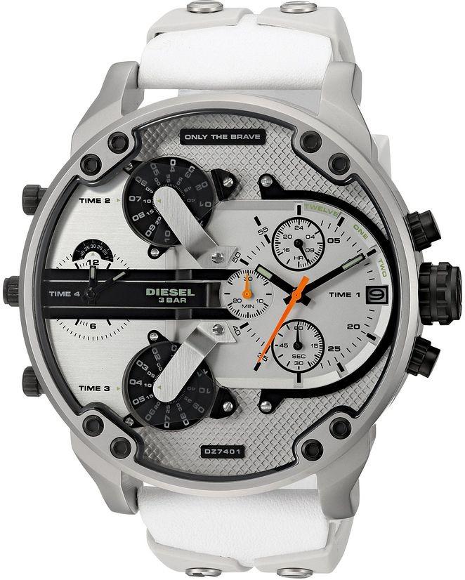 0d11276eeb1 Comprar Relógio Diesel 3 BAR - Branco DZ7401 - Brasil Relógios ...