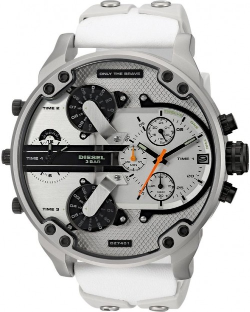 Relógio Diesel 3 BAR - Branco Dz7401