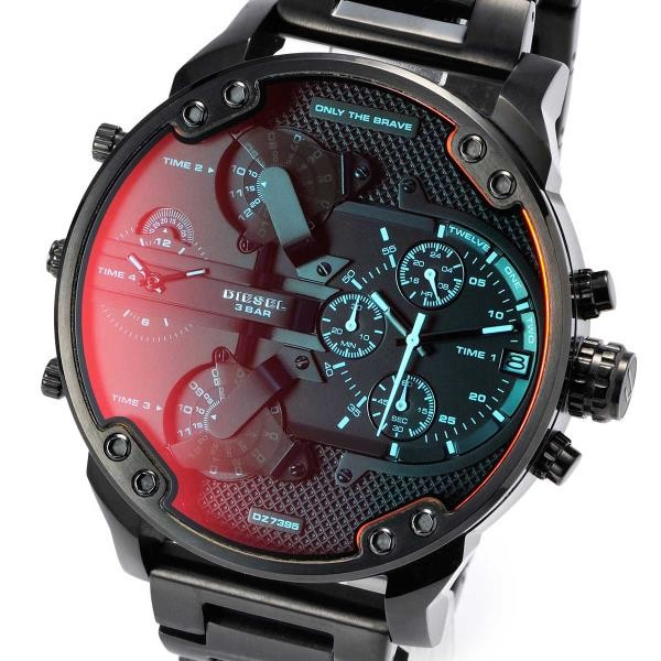 Relógio Diesel 3 BAR - Mr. Daddy 2.0 Black Dz7395