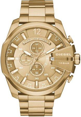 Relógio Diesel 10 BAR - Dourado