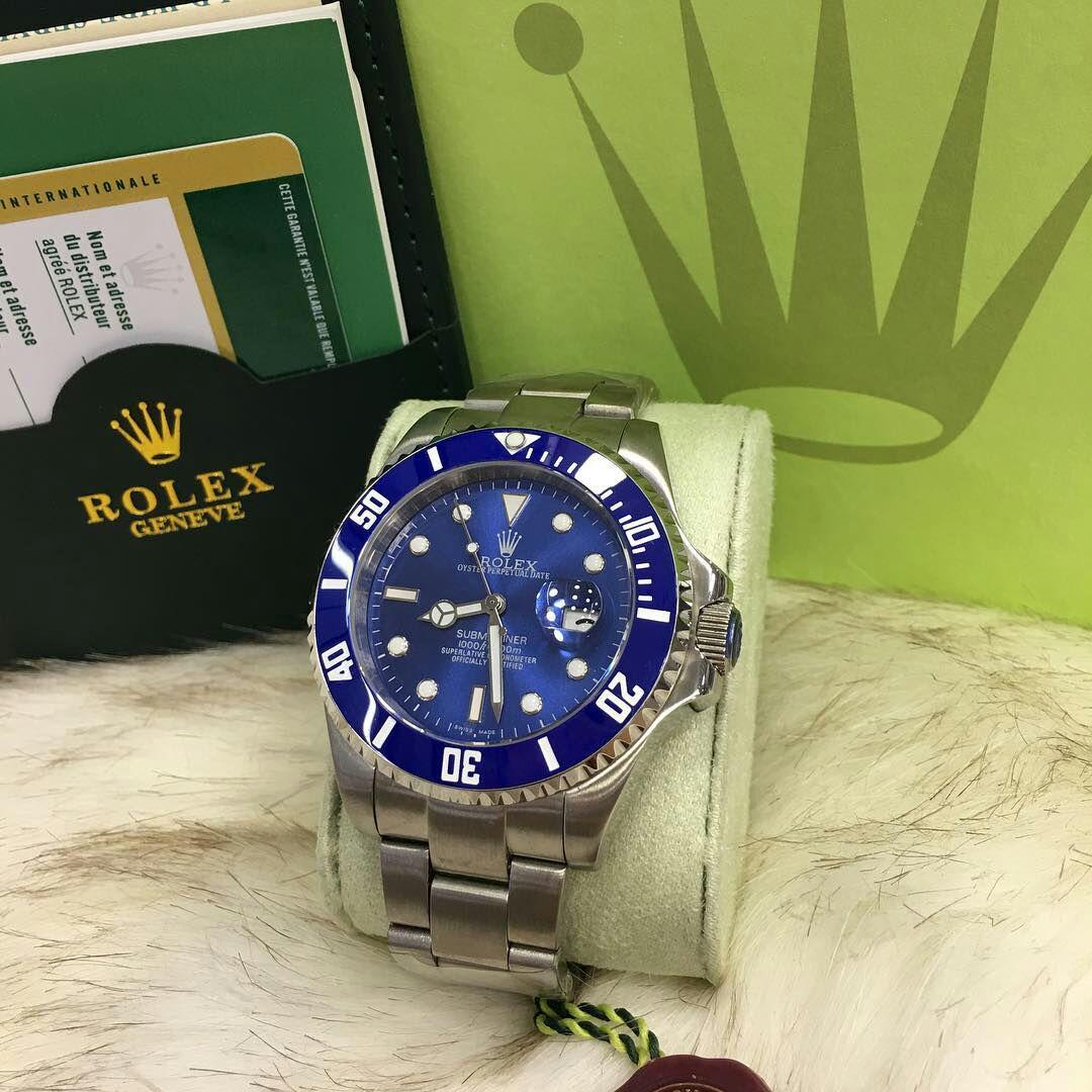 2bcb6a9e420 Comprar Relógio Rolex Submariner Blue - Brasil Relógios Importados