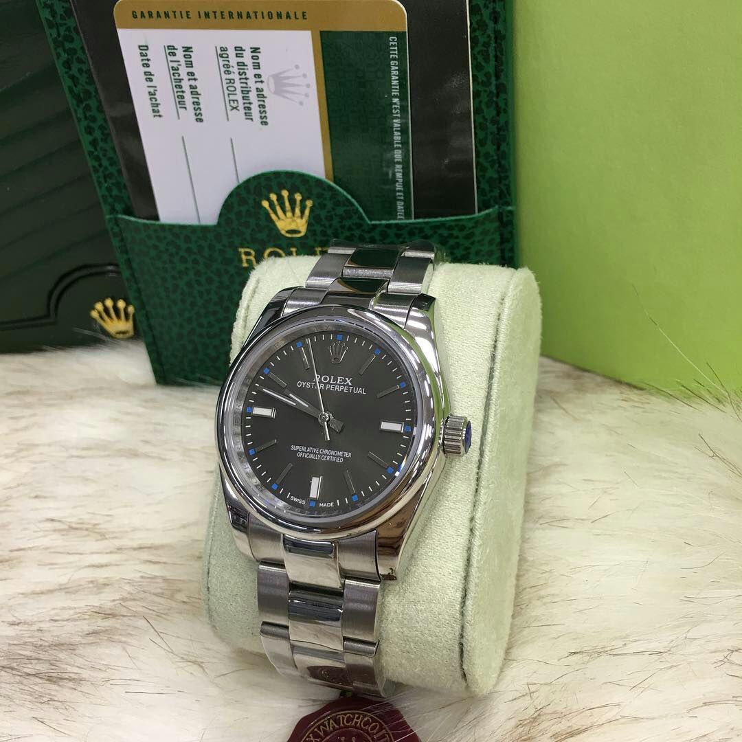 810d5b65e8d Comprar Relógio Rolex Datejust - Prata com Fundo Preto e Ponteiros ...
