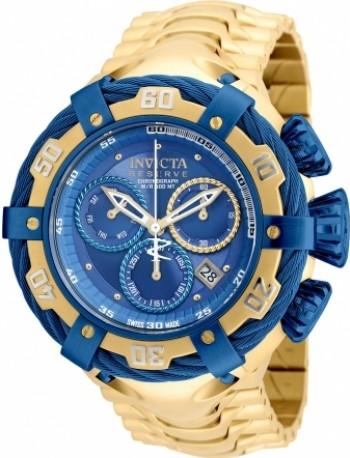Relógio Invicta - Thunderbolt Dourado e Azul