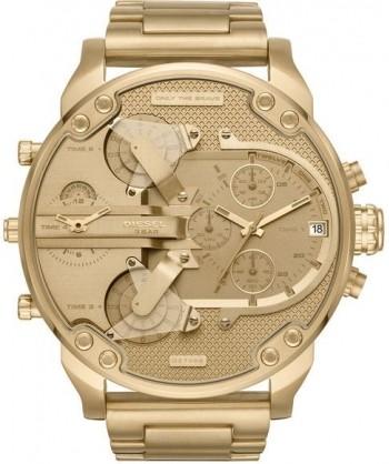 Relógio Diesel 3 BAR - Dourado