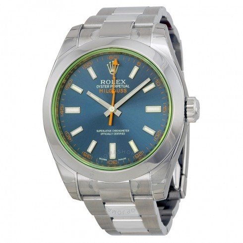 4d3c0d595f6 Comprar Relógio Rolex Milgauss Blue - Brasil Relógios Importados