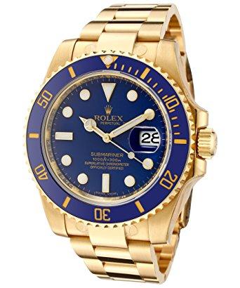 Relógio Rolex Submariner Blue Gold