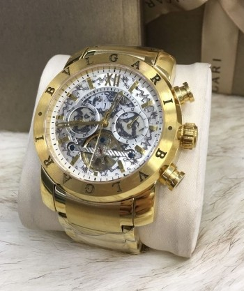 Bvlgari Dragon Gold White