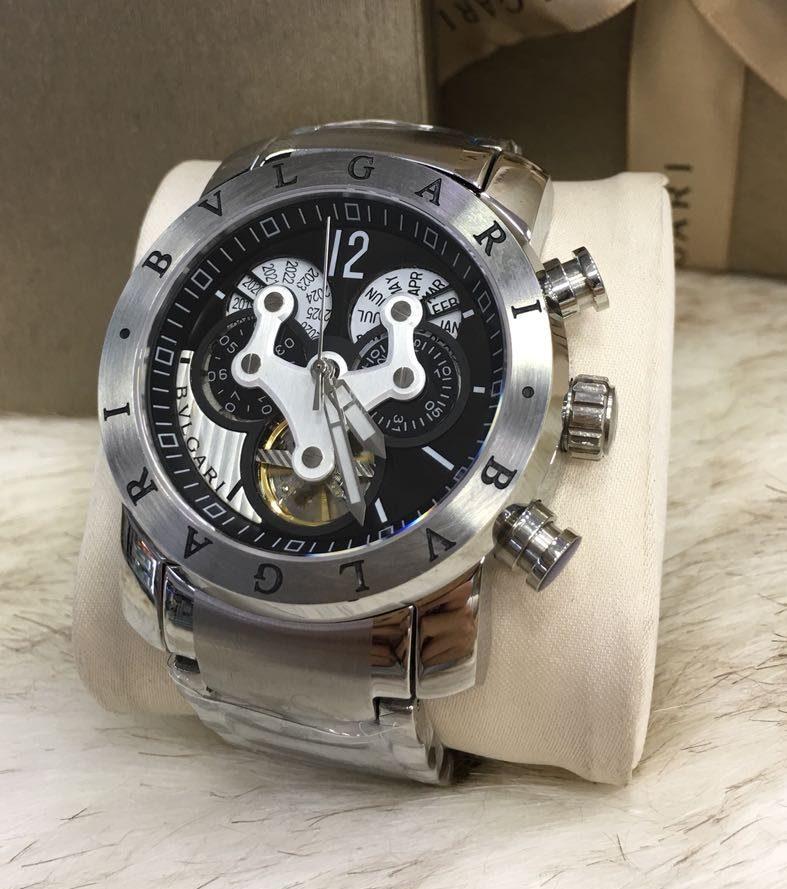 5845be430b0 Comprar Bvlgari Hybrid Black - Brasil Relógios Importados