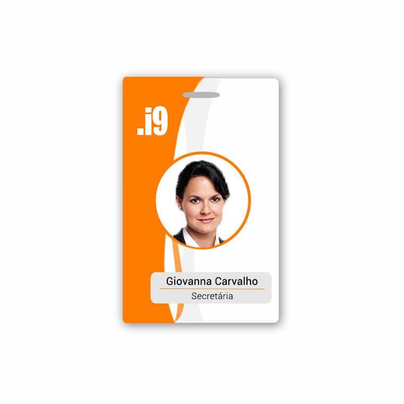 Crachá Personalizado RFID - Pct 10 UN