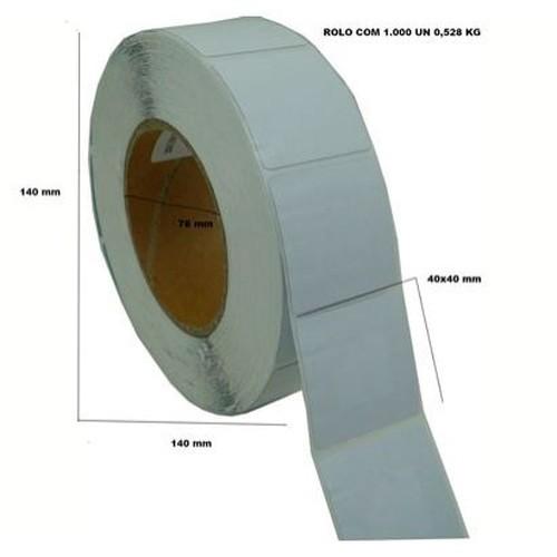 Etiqueta Antifurto Adesiva BR 4X4 RF 8,2MHz c/ 1000 un