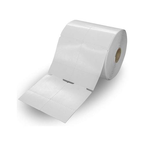 Etiqueta Tag para Roupa 50x75x02 Rolo 1000 unidades com picote