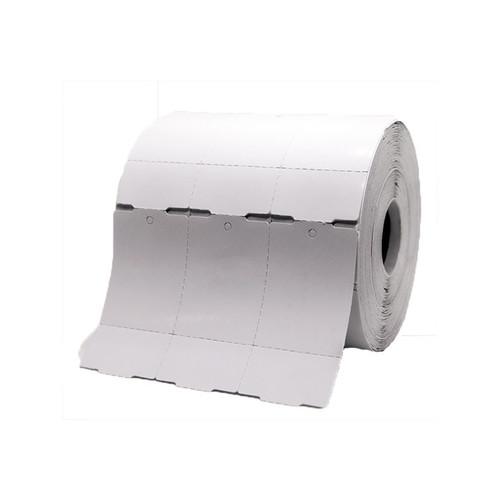 Etiqueta Tag para Roupa 35x60x03 Rolo 1500 unidades com picote