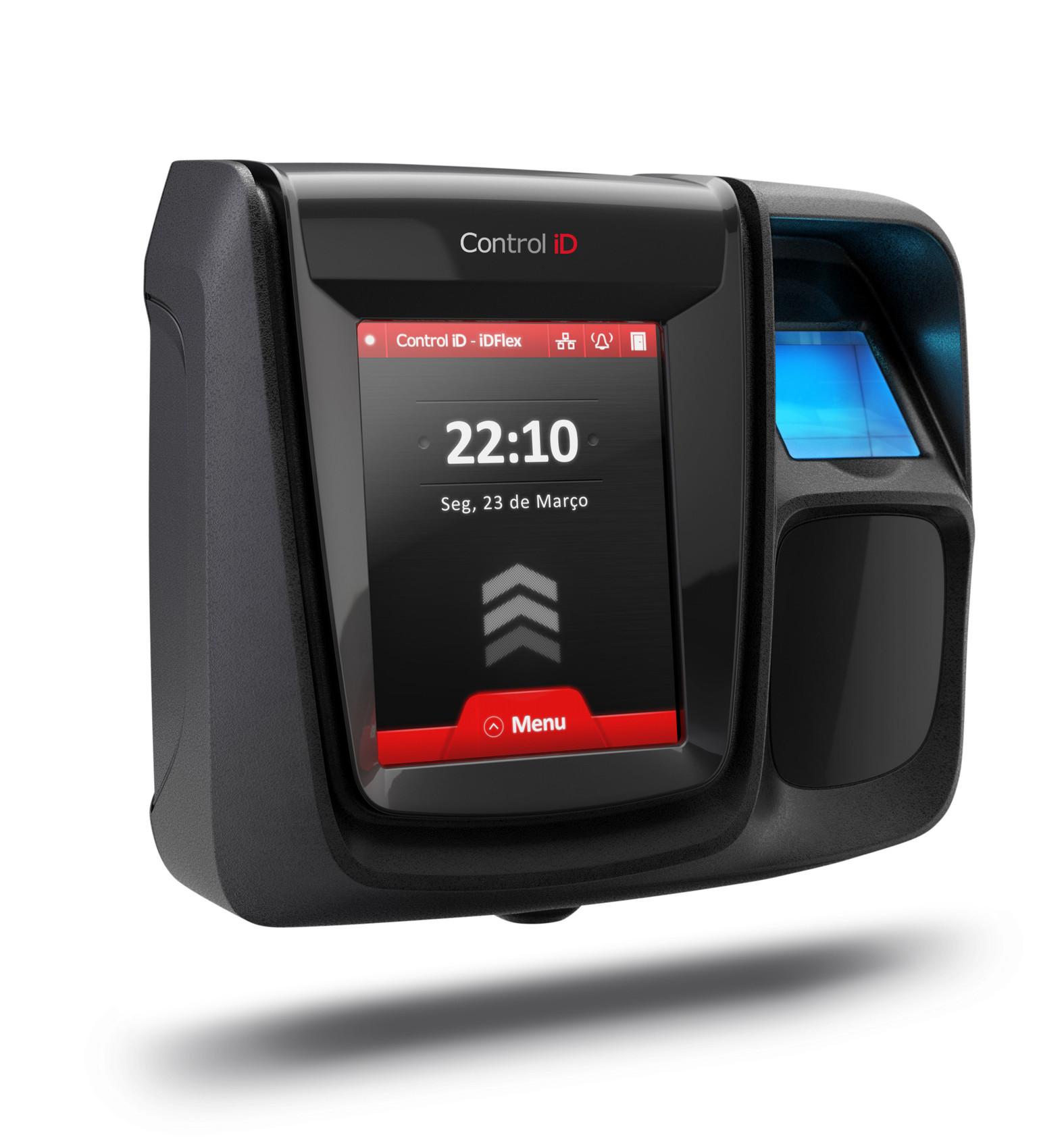 Controle de Acesso Control iD iDFlex Biometria e Proximidade