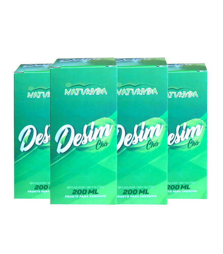 Kit 4 Desim Chá - 200 ml