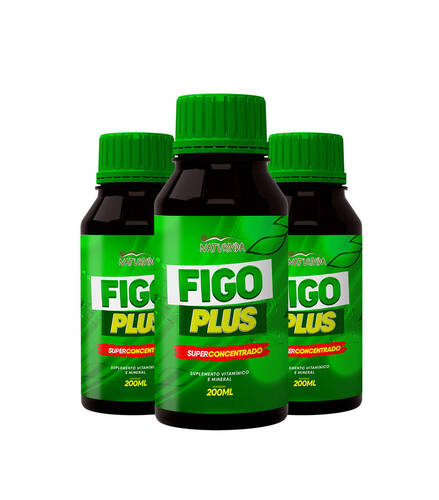 Kit 3 Figo Plus - 200 ml